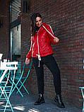 Женская куртка с капюшоном плащевка+синтепон размер: 48-50, 50-52, 52-54, фото 9