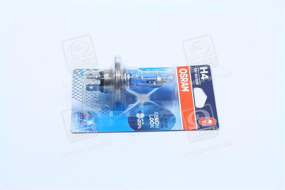 Лампа фарная H4 12V 60/55W P43t Cool Blue Intense (1 шт) blister (производство OSRAM) (арт. 64193CBI-01B-BLI),
