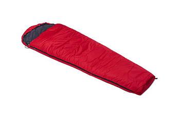Спальный мешок DUSPO 160 Кокон Красный Лівий