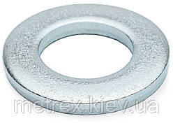 Шайба плоская М20х37 DIN 125 узкая оцинкованная