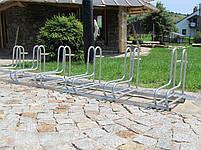 Велопарковка на 6 велосипедів Rad-6 Польща, фото 2