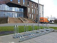 Велопарковка на 6 велосипедів Rad-6 Польща, фото 3