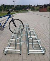Велопарковка на 6 велосипедів Rad-6 Польща, фото 4