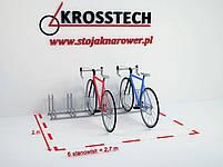 Велопарковка на 6 велосипедів Rad-6 Польща, фото 8