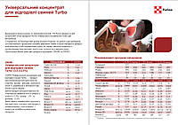 Премікс пуріна® універсальний концентрат для  відгодівлі свиней Turbo 3,5-3-2,5% 20090 5кг