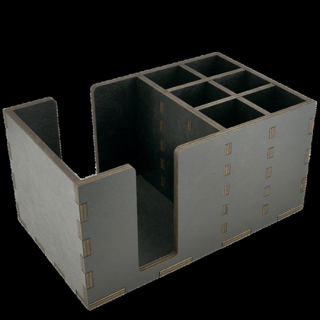 Органайзер деревянный крашенный 24*14,5см