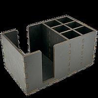 Органайзер деревянный крашенный 24*14,5см, фото 1