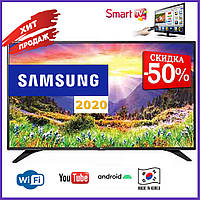 Телевизор Samsung Smart TV Самсунг 4K 34 дюйма Ultra HD LED TV WIFI Android Андроид 9 Смарт ТВ Гарантия