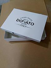 Коробка с печатью логотипа 38х28х8см