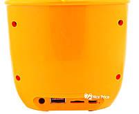 Портативная Bluetooth колонка Dancing Flower G26 Orange, фото 3