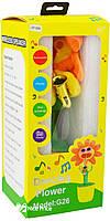 Портативная Bluetooth колонка Dancing Flower G26 Orange, фото 5