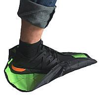 Автоматичні багаторазові бахіли Reusable Portable Automatic Shoe (мікс кольорів), фото 8