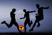 Мяч футбольный с LED Подсветкой Jymingde 5 размер | Светящийся футбольный мяч №2, фото 3