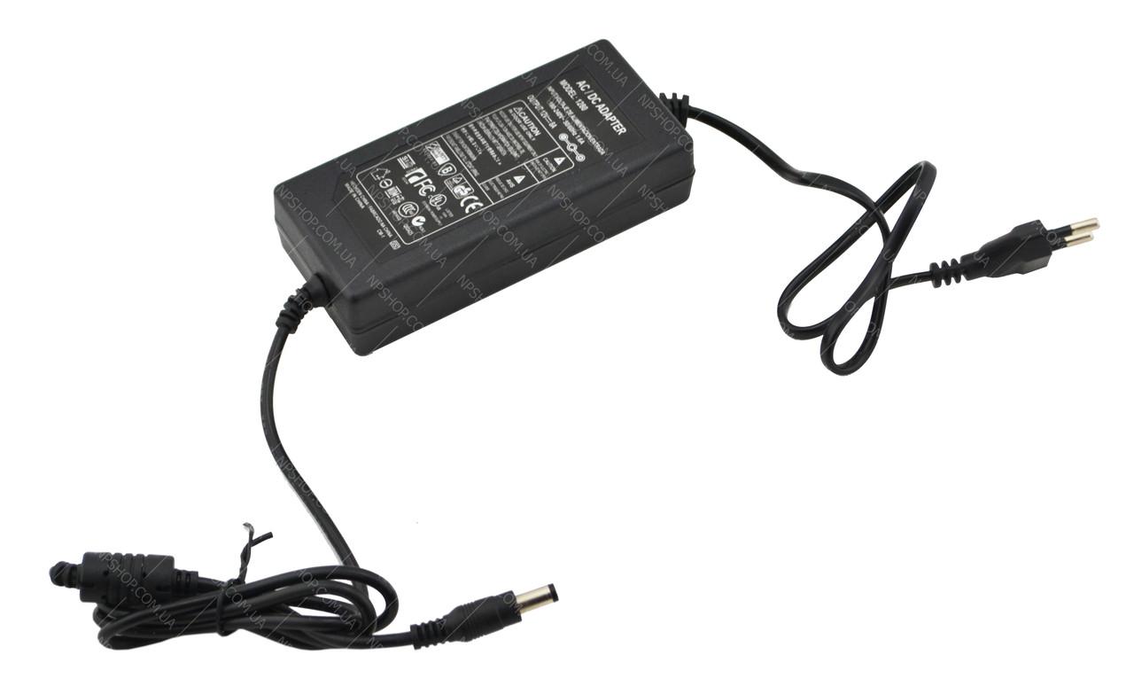 Блок питания адаптер 12V 8A с кабелем питания 5.5x2.5 мм (0332)