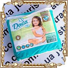 """Детские подгузники """"DADA"""" extra soft 6 Extra Large 15 кг., 38 шт./уп."""