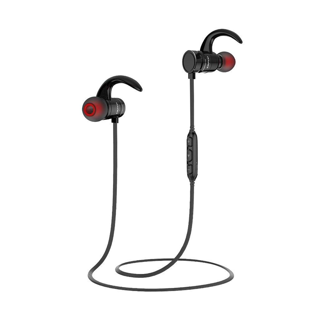 Спортивные Bluetooth наушники Awei AK4 Black (5014)