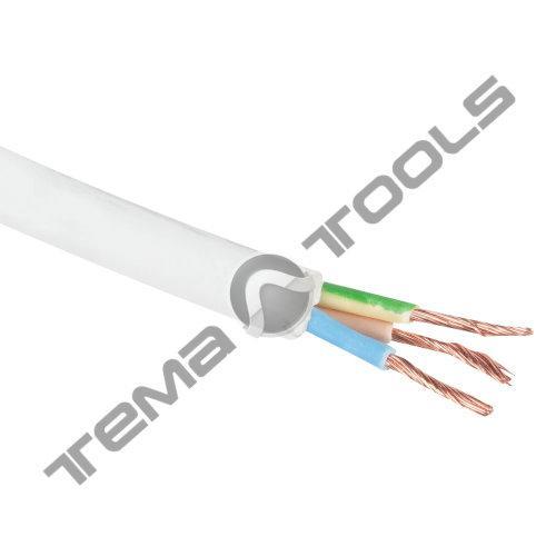 Силовий мідний кабель ПВС нг 3x1,5 мм2
