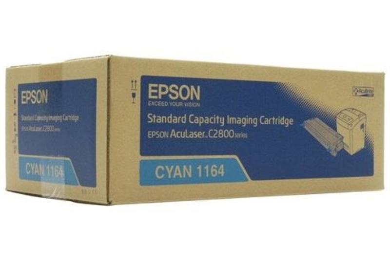 Картридж Epson C13S051164 голубой (170346)