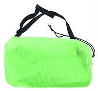 Надувной шезлонг диван мешок Ламзак Lamzac салатовый, фото 4