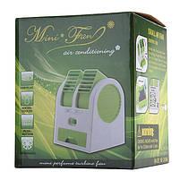 Мини-кондиционер вентилятор Mini Fan UKC HB-168 розовый, фото 4