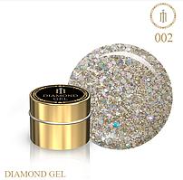 Гель для дизайна Diamond Gel Milano №02