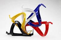 Крепление для фляги, бутылки / флягодержатель велосипедный пластмассовый