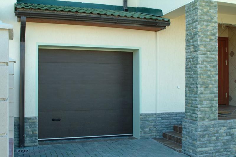 Гаражные (секционные)ворота 2750*2250 Алютех серии TREND.