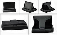 """Автомобильный раскладной монитор 5"""" дюймов для камер заднего/переднего вида 2 видео входа (14080), фото 5"""