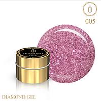Гель для дизайна Diamond Gel Milano №05
