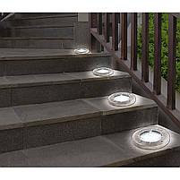 Уличный светильник на солнечной батарее Solar Disk Lights 4 led (5050), фото 7