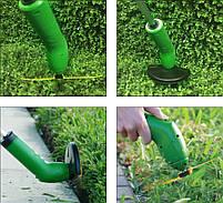 Ручная беспроводная газонокосилка | Триммер для травы Zip Trim (5459), фото 8