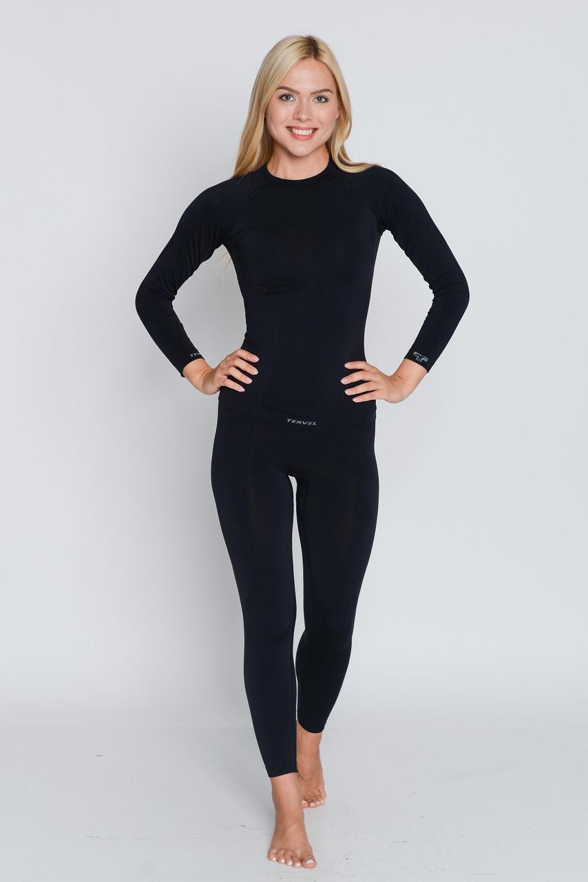 Термокофта жіноча спортивна Tervel Comfortline (original), лонгслив, кофта, термобілизна зональне, безшовне