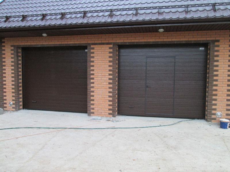 Гаражные (секционные)ворота 2750*2500 Алютех серии TREND.