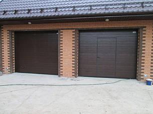 Гаражные (секционные)ворота 2750*2500 Алютех серии TREND., фото 2
