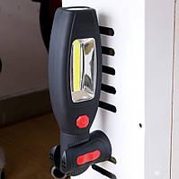Фонарик YL 813 аварийный фонарь для авто с магнитом и крючком (3599), фото 7