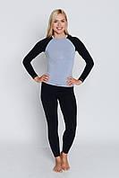 Термокофта женская спортивная Tervel Comfortline (original), лонгслив, кофта, термобелье зональное, бесшовное, фото 1