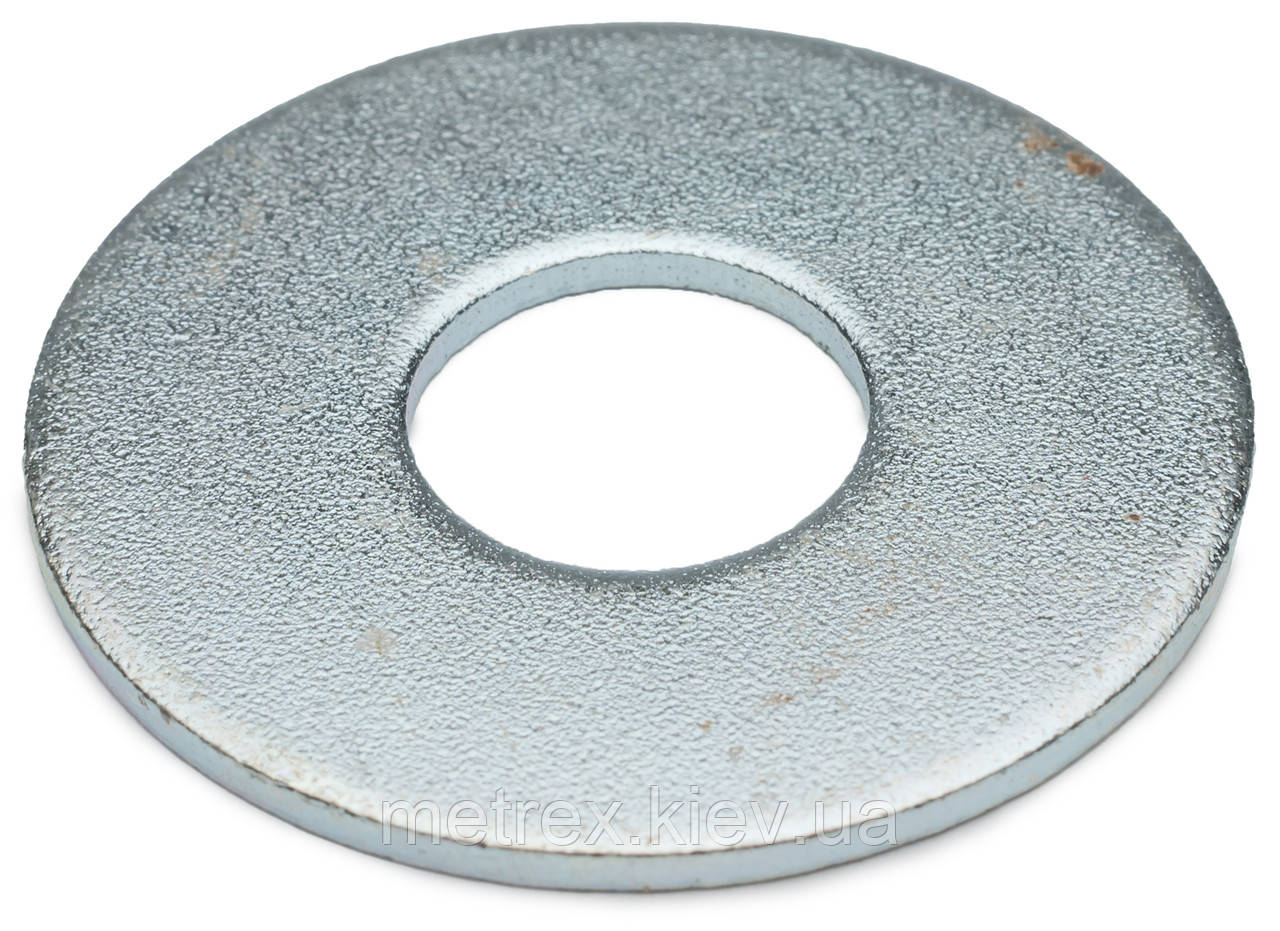 Шайба увеличенная под заклепку DIN 9021 М20x60 мм оцинкованная