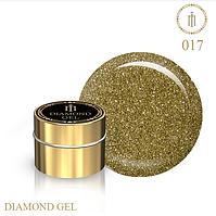 Гель для дизайна Diamond Gel Milano №17