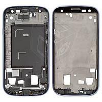 Рамка крепления дисплея для Samsung Galaxy S3 i9300, голубая