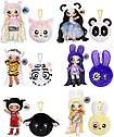 MGA Entertainment  Na! Na! Na! Сюрприз 2-в-1 модная кукла и плюшевый кошелек, серия 4 - Bianca Bengal Бьянка, фото 6