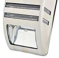 Светильник металлический TIENDA с датчиком движения и солнечной панелью (настенный уличный) Silver, фото 3