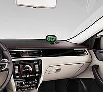 Часы автомобильные VST-7009V с индикацией заряда АКБ (Вольтметр), и двумя термо датчиками (3803), фото 10