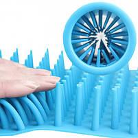 Стакан для мытья лап, лапомойка для собак Soft pet foot cleaner MEDIUM (микс цветов), фото 3