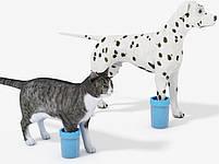 Стакан для мытья лап, лапомойка для собак Soft pet foot cleaner MEDIUM (микс цветов), фото 7