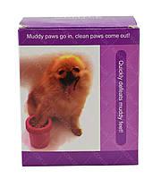 Стакан для мытья лап, лапомойка для собак Soft pet foot cleaner MEDIUM (микс цветов), фото 8