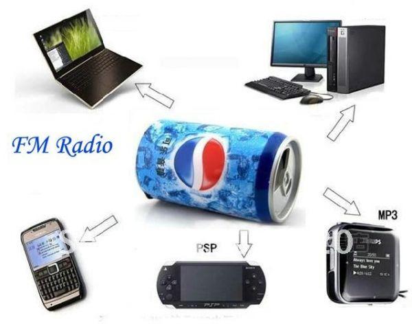 портативная колонка купить, мр3 колонка купить, колонка пепси купить, USB колонка купить, FM колонка купить