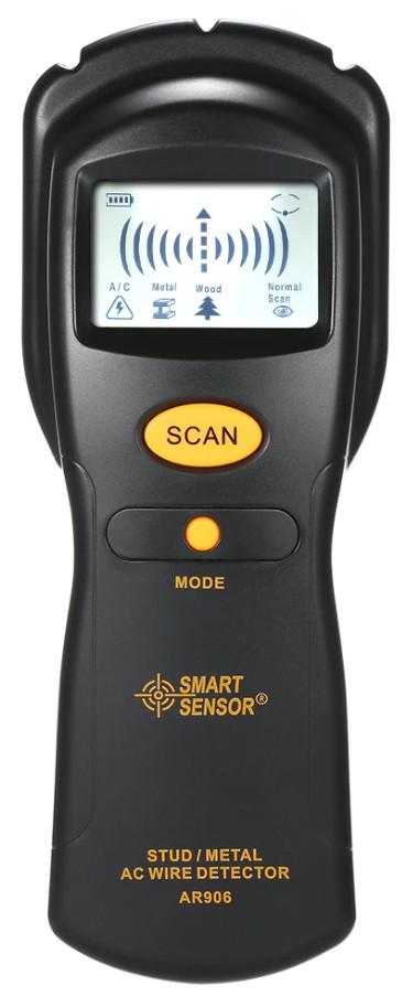 Шукач прихованої проводки і металу Smart Sensor AR906 (7004)