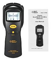 Шукач прихованої проводки і металу Smart Sensor AR906 (7004), фото 8