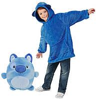 Детский худи-трансформер (толстовка) Huggle Pets (Собачка)