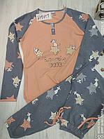 Жіноча піжама зі штанами, фото 1